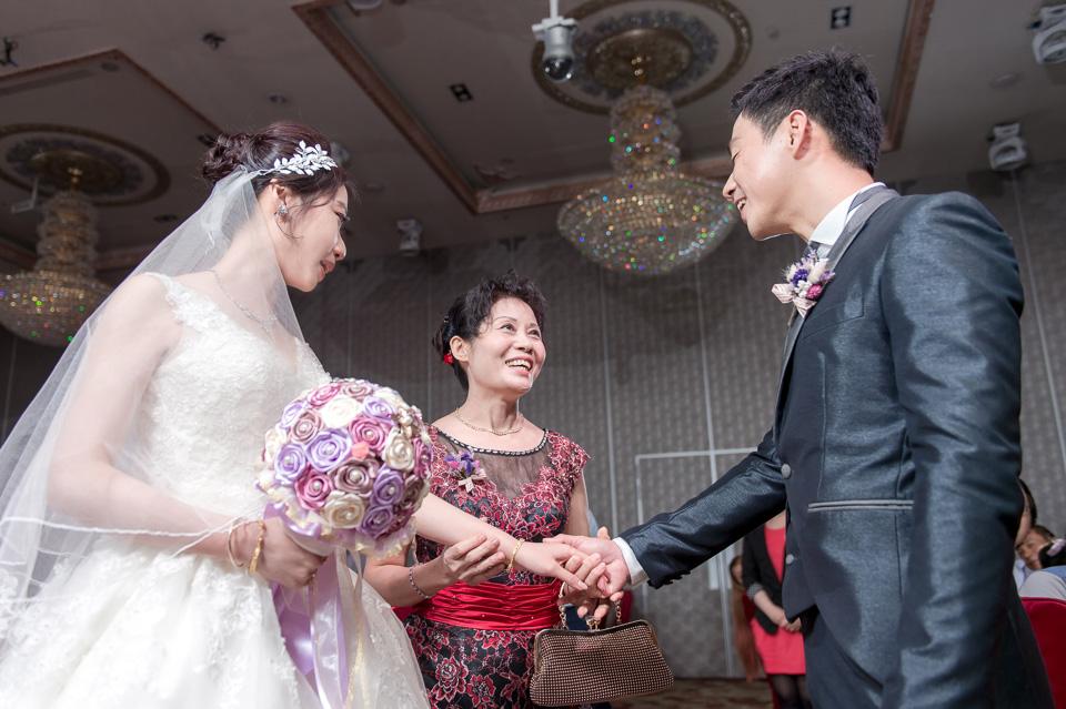 台南婚攝 婚禮紀錄 情定婚宴城堡 C & M 126