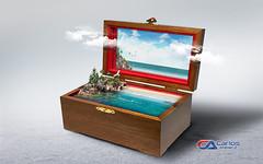 Carlos Atelier2 - Caixa de natureza (Carlos Atelier2) Tags: carlos atelier2 caixa musica natureza mar surreal ao ar livre
