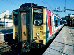 Target  for a new toy (legomanbiffo) Tags: brel emu east south network wcml station bletchley 317315 317 class