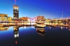 Darling Harbour (Patri-Wang) Tags: bluesky night darlingharbour sydney