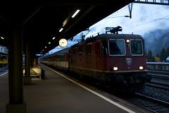On Borrowed Time (imartin92) Tags: goschenen cantonofuri switzerland sbb cff ffs swissfederalrailways interregio gotthard railway railroad passenger train re44 locomotive