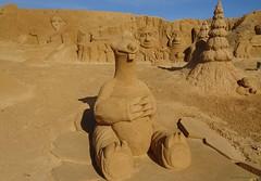 FiESA 2016 (Algarve), Portugal - Sid (Ice Age) (Carsten@Berlin) Tags: portugal 2016 algarve fiesa sandskulpturen sand sculpture pera sid iceage