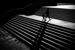 Sliding (tomabenz) Tags: shadow noiretblanc urban monochrome light bw streetview black white blackandwhite sony a7rm2 streetphotography lightandshadow sonya7rm2