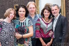 Kathleen?, Kathleen, Georges, Nicole and Denis, l'Argonne, Brussels, June 2016