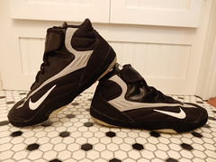 Rare Nike Takedown 3 TD3 Black Wrestling Shoes Sz 12 (Donna's Collectables) Tags: rare nike takedown 3 td3 black wrestling shoes takedown3 mma lifting sports