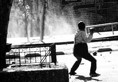 Santiago de Chile (Alejandro Bonilla) Tags: santiago chile street city urban bw black white monocromo monocromatico