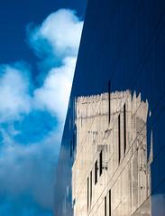 BRYAN_20161019_IMG_9554 (stephenbryan825) Tags: liverpool mannisland merseytunnelairvent merseytunnelsgeorgesdockbuilding blue buildings cloud glass reflection selects