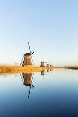 Reflection - Kinderdijk (wendyderoover) Tags: kinderdijk reflectie molen mill water landschap landscape nederland