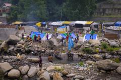 Kullu's Slum (Ash and Debris) Tags: ghetto kullu street people city slum urbanlife streetlife kulu poor habitat india life water indians river urban