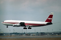 N28727 Boeing 707-331B TWA Trans World Airlines (pslg05896) Tags: n28727 boeing707 twa transworldairlines lhr egll london heathrow