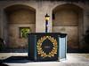 1820 (-BigM-) Tags: deutschland germany comburg kloster schwäbisch hall sha bigm kirche church monastry brunnen wasser water 1820 gold bronze grünspan
