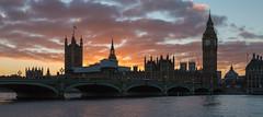 Westminster Sunset (scarlet-pimp) Tags: timeoutlondon england art unitiedkingdom bigben canon5d timeout london travel canon5dmarkiii travelphotography architecture elizabethtower westminsterbridge londonist bbcengland greatbritain sunset