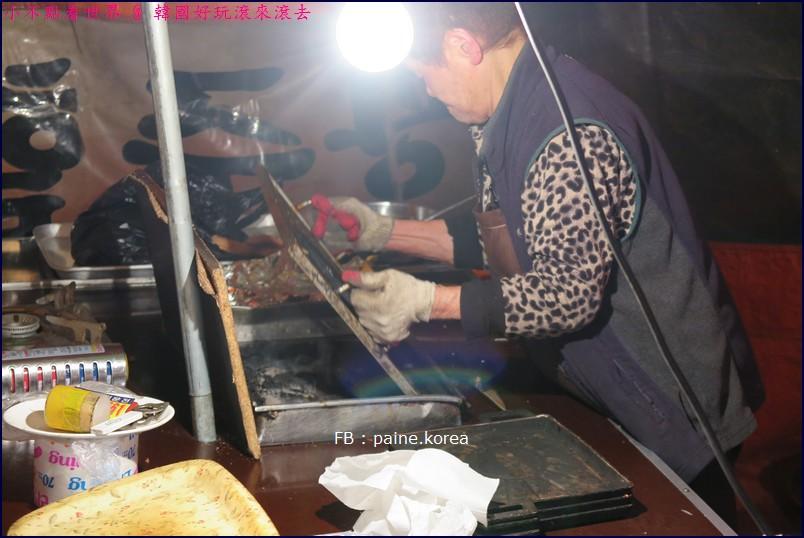 新堂站馬場路光州奶奶烤腸신당역 광주할머니 곱창집에서