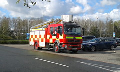 NIFRS / DRZ 6279 / Volvo FLL (jonny 109) Tags: ireland rescue fire away pump browns fist service northern exchange holywood knocknagoney coachworks nifrs
