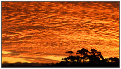 AUTUMN SUNSET (Jeff Crowe) Tags: sunset australia tasmania tas