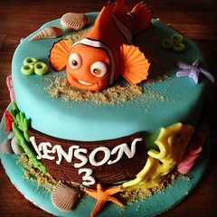 (LittleBake) Tags: ocean fish cake star sand nemo shell uploaded:by=instagram
