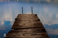OLD WHARF (VECCHIO PONTILE) (STEFANO GIACOMETTI PHOTOGRAPHY) Tags: wood light lake assisi umbria trasimeno sgis stefanogiacometti