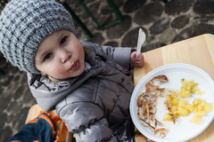 Hungry little girl (Daniel Kulinski) Tags: old two food baby apple girl pie stars four hotel mirror europe cookie image sweet outdoor daniel 4 country creative picture evil samsung poland babe eat imaging years hungry 1977 natasha less ossa nx nx200 kulinski daniel1977 samsungnx samsungimaging samsungnx200 danielkulinski