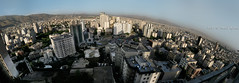 Tehran panoramic cityscape (Saeid Aghaei) Tags: city sky panorama building tower cityscape iran damavand panoramic tehran  saeid          aghaei iranmap  iranmapcom