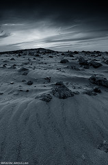 ( ibrahim) Tags: sunset sky sun nature stone clouds canon landscape photography sand desert drought sands  ibrahim abdullah      50d    canon50d tokina1116mm