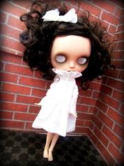 IMG_6175-001 (shepuppy) Tags: dress blythe custom clone atomic ghoul lenore electricblueblythe