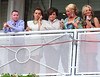 Coleen Rooney with friends and family Ladies Day at Chester Racecourse Cheshire, England