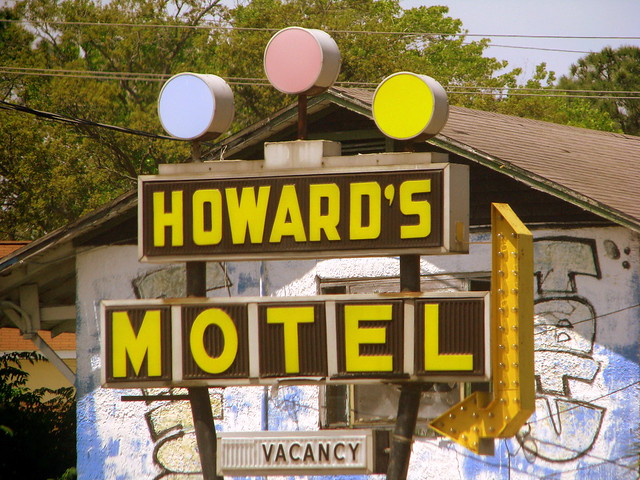 Howard's Motel sign - Panama City, FL