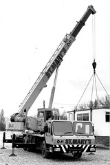 St Mary's Crane Hire (Bournemouth 71B / 70F) Tags: mobile big lift crane head duty boom cranes block chassis hook derrick root heavy jib strut sections slew ballast lifting hoist telescopic capacity counterweight outriggers