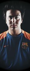 SPORT Face =D (Abdullrhman AlShehri) Tags: barcelona sport abdullrhman alshehri