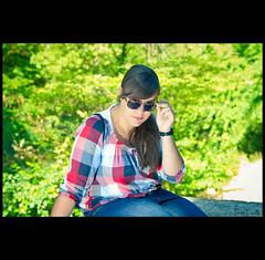 [ 253/365 ] Alicia en la isla (Krrillo) Tags: portrait david verde green canon eos alicia bokeh retrato sigma paseo 7d 28 365 burgos isla carrillo 750 krrillo