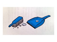 Dustpan & Brush (Michael Goldrei (microsketch)) Tags: art broken glass up illustration smash artwork floor drawing brush clear brushes pan smashed dust sweep app tidy sweeping iphone dustpan ipad tidying uploaded:by=flickrmobile flickriosapp:filter=nofilter