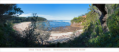 One Tree Beach pano (caralan393) Tags: beach coast pano