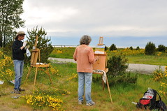 The artists (Derek WM Law) Tags: nature painting landscapes artist arts painter nikkor nikondigital richmondbc vancouverbritishcolumbia nikkorlenses nikond90 nikoncapturenxusersgroup nikoncapturenx2 niksoftwarephotoshare nikkorafsdx1855mmf3556vr