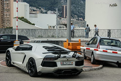 Is that the NiBox ? (Yo06Player) Tags: monaco 700 lamborghini dmc supercars lambo aventador lp700