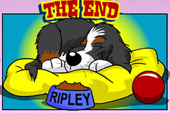 TheEnd (RipleyTheDog) Tags: ripley bernesemountaindog webcomic ripleythedog