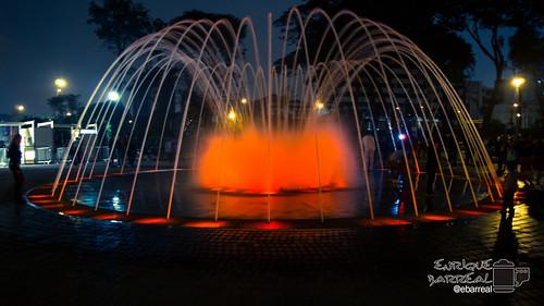 Fuente Cúpula Visitable, Circuito Mágico del Agua - Lima