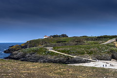 Plage et phare Belle Ile-66 (marcdelfr) Tags: ocean travel lighthouse france beach landscape island brittany atlantic morbihan scenics littoral