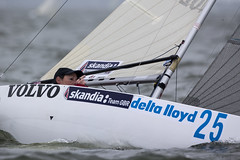 Delta Lloyd Regatta 2013  Sander van der Borch (BritishSailingTeam) Tags: netherlands europe thenetherlands olympic medemblik nld deltalloyd 24mr olympicclasses deltalloydregatta eurosafchampionssailingcup