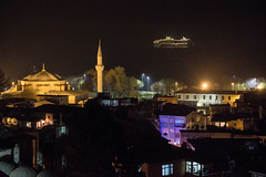 mein Traumschiff (Grapfinger) Tags: urban night ship colours nightscape trkiye dream istanbul mosque trkei myth sultanahmet marmara seaofmarmara