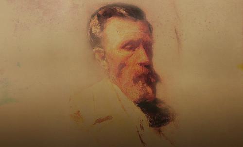 """Mentores, homenaje a Vincent van Gogh de Henri de Toulouse Lautrec (1887), y al padre de Pablo Picasso (1896). • <a style=""""font-size:0.8em;"""" href=""""http://www.flickr.com/photos/30735181@N00/8815687398/"""" target=""""_blank"""">View on Flickr</a>"""
