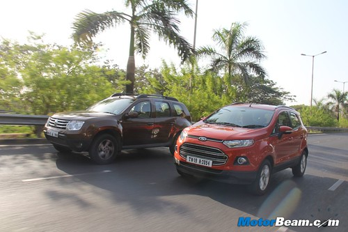 Ford EcoSport Vs Renault Duster 02