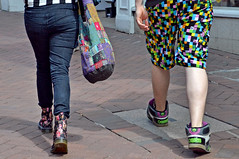 Relationships survive better if you retain your independence (The Snige) Tags: people fashion walking town couple shropshire boots streetphotography style shrewsbury relationship together footwear drmartens bouncingsoles