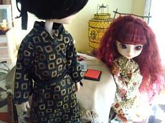 Tatsuha y Susumi (Cenando en París) 40 (Lunalila1) Tags: 2 paris outfit doll track tour handmade iii wig yukata nakano kimono pullip gira kuro kain susumi taeyang skupe tatsuha stica