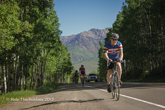 Stunning views up Lizard Head Pass. (RideTheRockies) Tags: day1 telluride cortex featured rtr2013