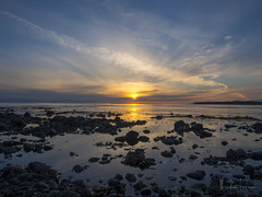 Sunset at Birch Bay (WhyKenFotos) Tags: sunset bay birch