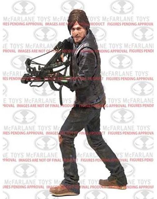 麥法蘭玩具宣布發行10 吋【陰屍路】人偶!首款推出十字弓男Daryl