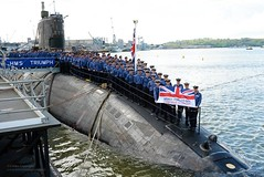 Submarine HMS Triumph Supporting Armed Forces Day (Defence Images) Tags: uk military nuclear submarine equipment british defense defence ssn royalnavy armedforcesday afd hmstriumph fleetsubmarines trafalgarclass shipsubmersiblenuclear