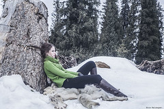 thoughtful girl (Amickman) Tags: winter portrait people woman mountain snow cold cute green nature girl face fashion female season landscape fun outside outdoors person rocks pretty looking view expression hill joy young tahoe enjoy thinking laugh getty casual cheerful playful dressed gettyimages