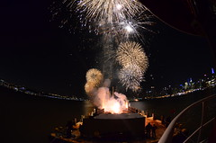 Macy's 4th of July Fireworks 2013 (Official New York City Fire Department (FDNY)) Tags: danger river boat marine fireworks safety macys hudson explosions 4thofjuly july4 independenceday fdny barge firedepartment explosives inspector fireboat nyfd fireprevention oversee threefortythree