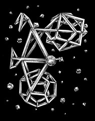 Stars (alan.maia) Tags: black bike bicycle night stars star surrealism space surreal bicicleta escher universe mcescher